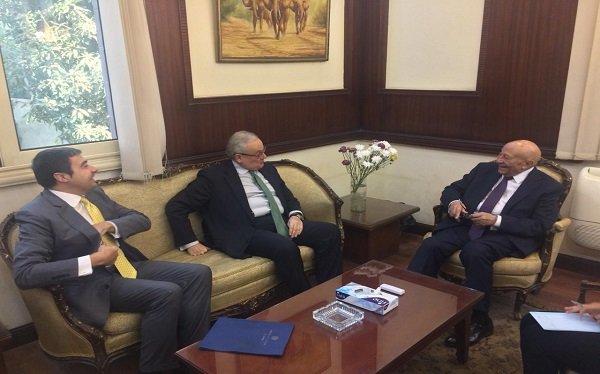 """""""القومي لحقوق الإنسان"""" يستقبل السفيرالايطالي بالقاهرة"""