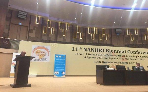 """""""القومي لحقوق الإنسان"""" يشارك في اجتماع الجمعية العامة للشبكة الأفريقية للمؤسسات الوطنية"""