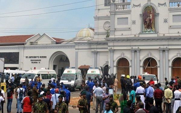 """""""القومي لحقوق الإنسان"""" يدين التفجيرات التي استهدفت كنائس وفنادق سريلانكا"""
