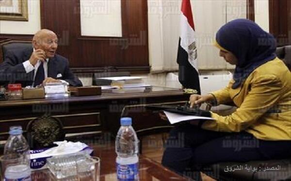 حوار صحفي مع رئيس القومي لحقوق الإنسان فى بوابة الشروق