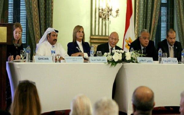 مصر تتسلم رسمياً رئاسة الشبكة العربية لحقوق الإنسان