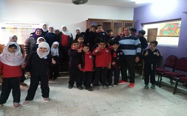 """""""القومي لحقوق الإنسان """" يتابع حملته لتوعية طلاب المدارس ضد التنمر"""