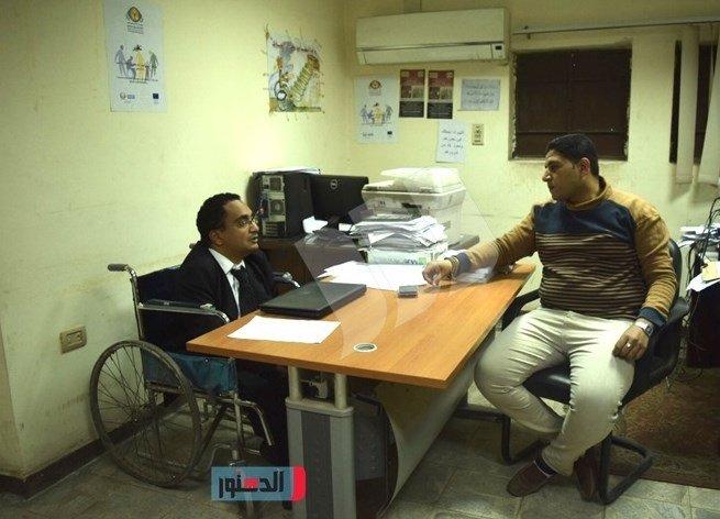 حوار دكتور أحمد إسحاق مع جريدة الدستور عن اهتمام الدولة بالأشخاص ذوي الإعاقة ودعم إنشاء نقابة لهم