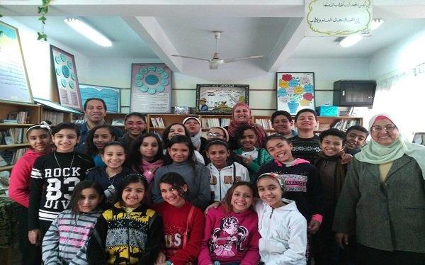 """""""القومي لحقوق الإنسان"""" يعمل على توعية طلاب المدارس ضد التنمر"""