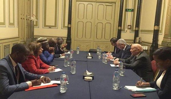 """رئيس """"القومي لحقوق الإنسان"""" يستقبل وفد الآلية الأفريقية لمراجعة النظراء"""