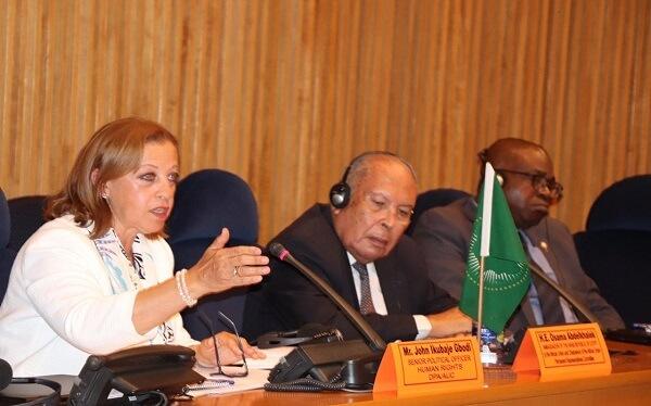 """""""القومى لحقوق الإنسان"""" يشارك فى منتدى السياسات الثالث بأثيوبيا"""