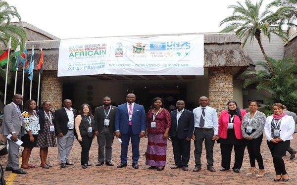 """""""القومي لحقوق الإنسان"""" يشارك في المنتدى الأفريقي السادس للتنمية المستدامة"""