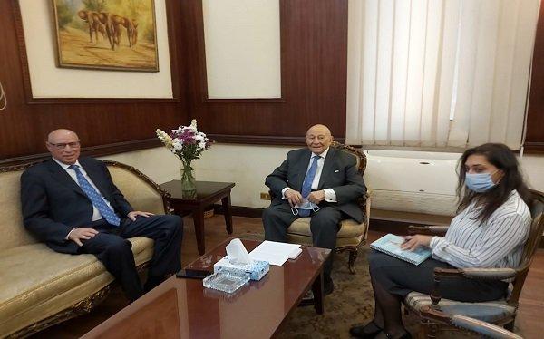 """رئيس """"القومي لحقوق الإنسان"""" يستقبل رئيس بعثة جامعة الدول العربية"""